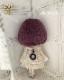 マシュマロボブ 紅紫[12inch]ドールウィッグ