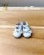 エナメルリボンシューズ ソフィア [幼SD,BJD] ドール 靴 【白】