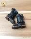 ドール 靴 本革 エンジニアブーツ [ブライス]黒