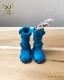 ドール 靴 本革 エンジニアブーツ [ブライス]スカイブルー