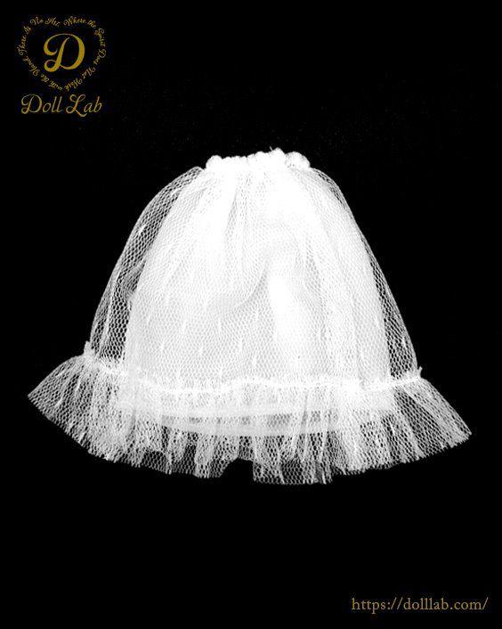 ドール アウトフィット パニエ [ネオブライスサイズ]ホワイト