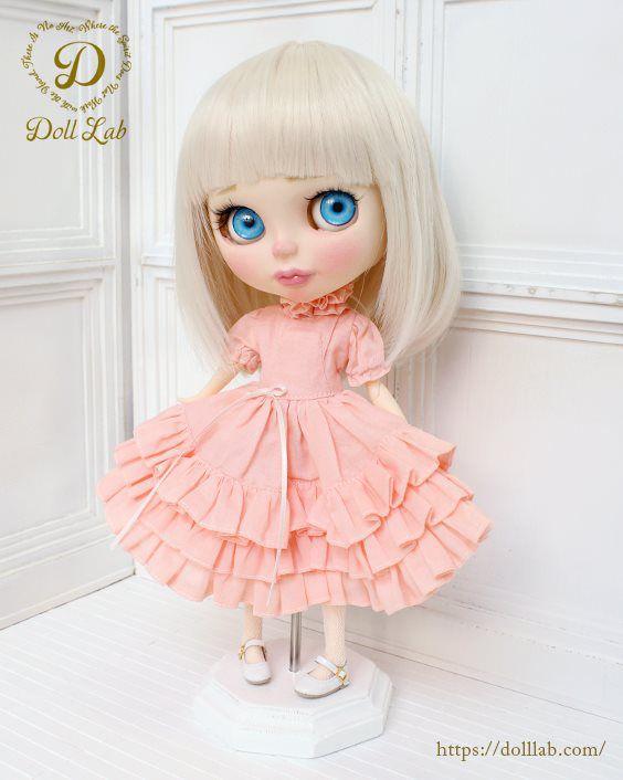 ドール 衣装  [ネオブライス サイズ] ピンク