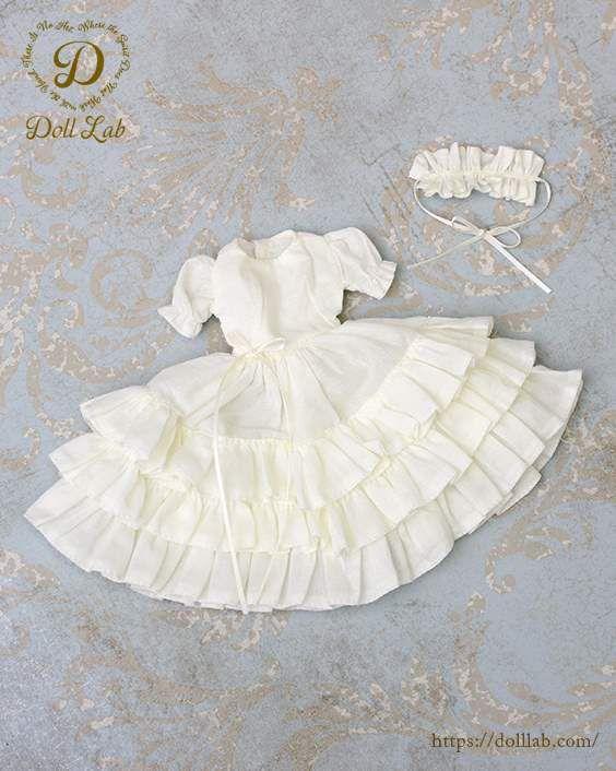 ドール 衣装 [ネオブライスサイズ] オフホワイト