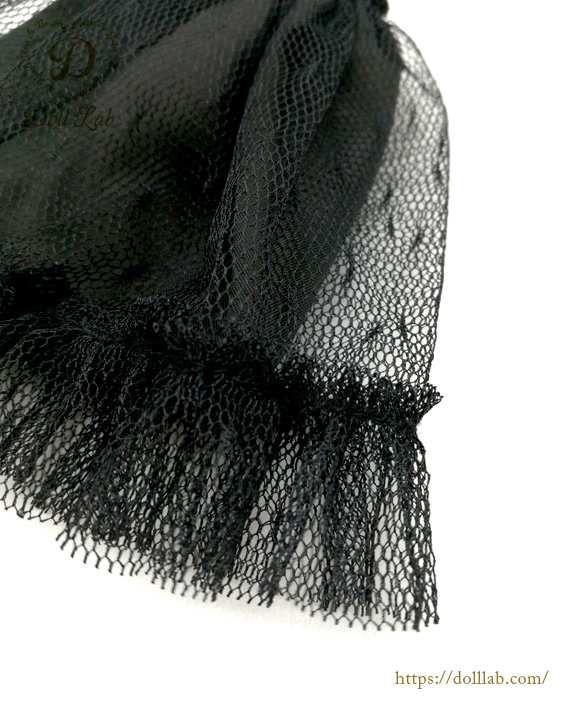 ドール アウトフィット パニエ [ネオブライスサイズ]ブラック