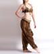 ベリーダンス衣装トライバル品番D-014ブラベルトとパンツ3点セット