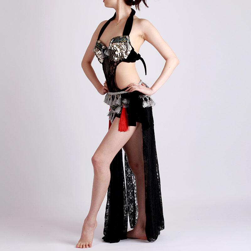 ベリーダンス衣装トライバル品番D-005