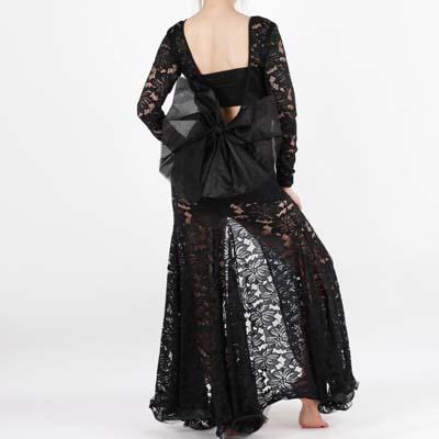 サイーディ,ワンピース露出を抑えたベリーダンス衣装,品番BS-006