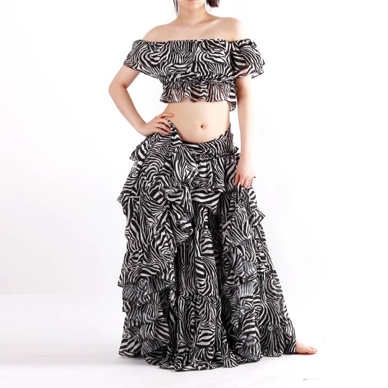 ベリーダンス衣装トライバル品番D-029