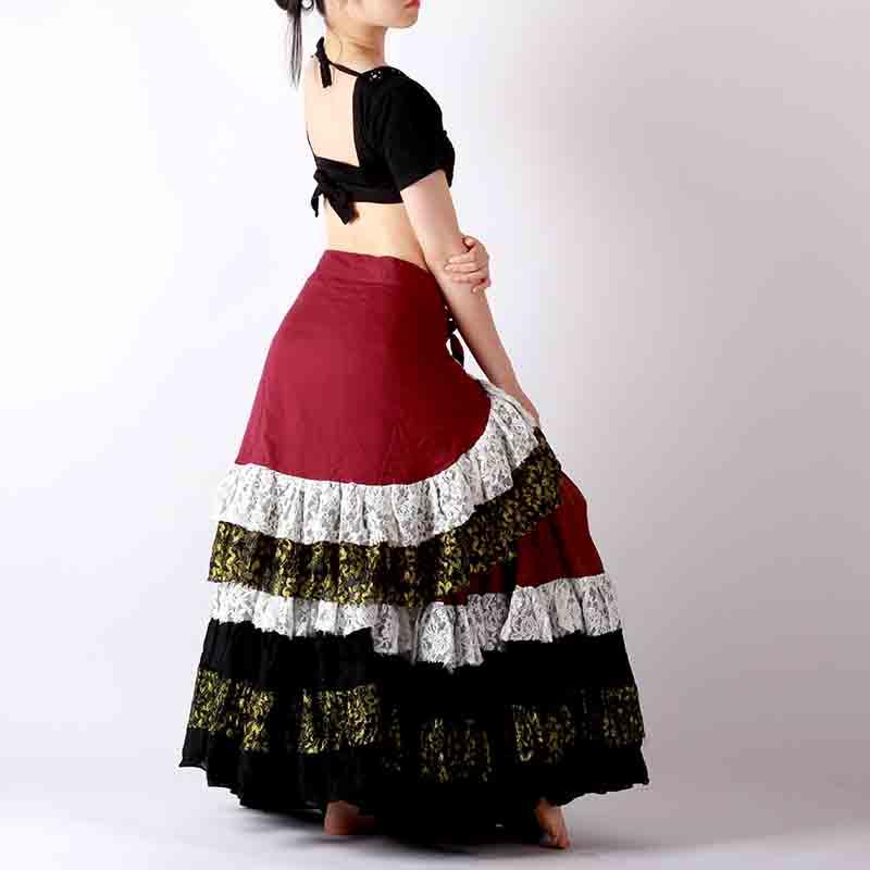 ベリーダンス衣装トライバル品番D-021