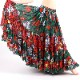 ベリーダンス衣装スカート品番J-01925ヤードジプシースカート