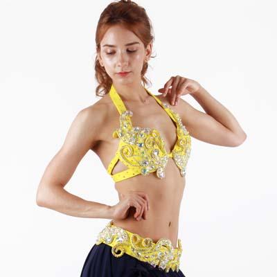 ベリーダンス衣装ブラ&ベルト品番BVS-158トルコレ限定品