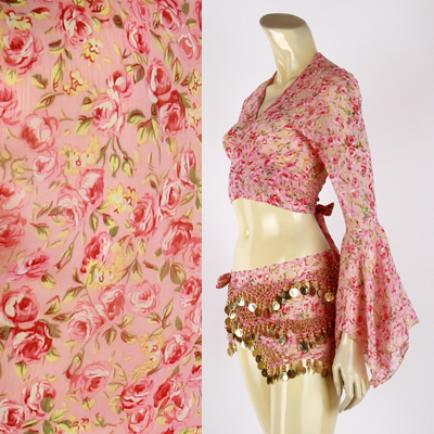 ベリーダンス衣装チョリとヒップスカーフセット品番CCH-040全4色取扱いセール中