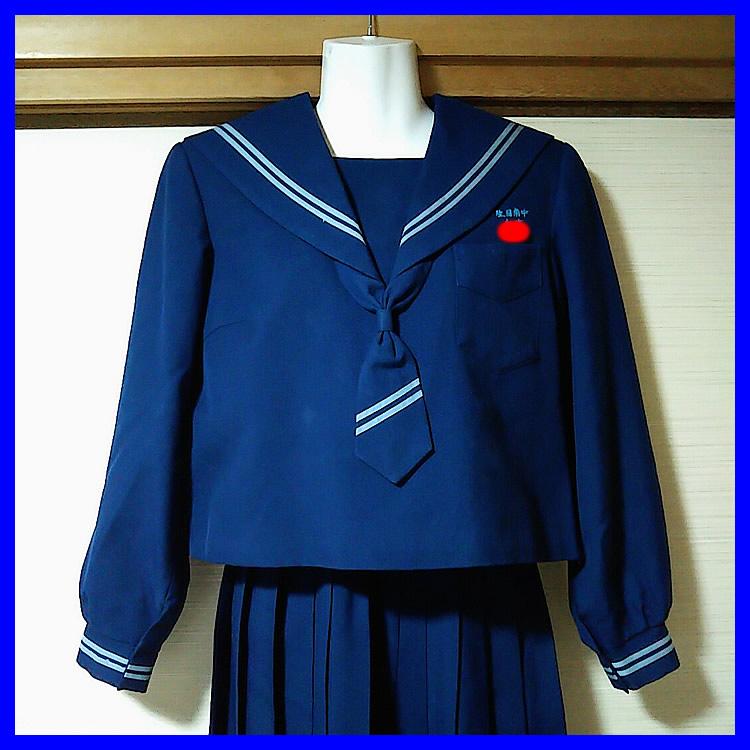 3点 宮崎県 宮崎市立生目南中学校 女子制服