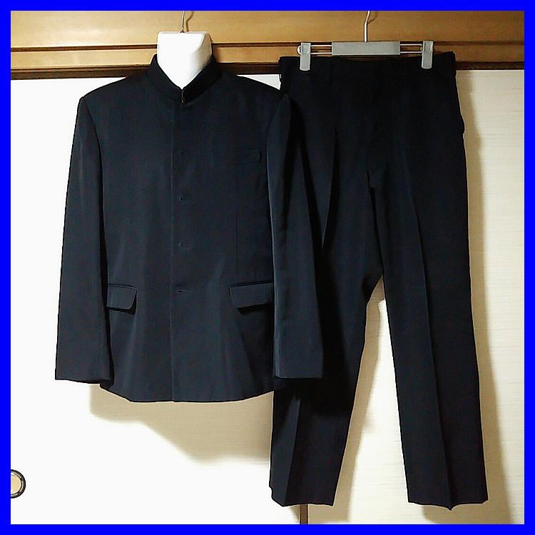 3点 静岡県 静岡市立高校 男子制服