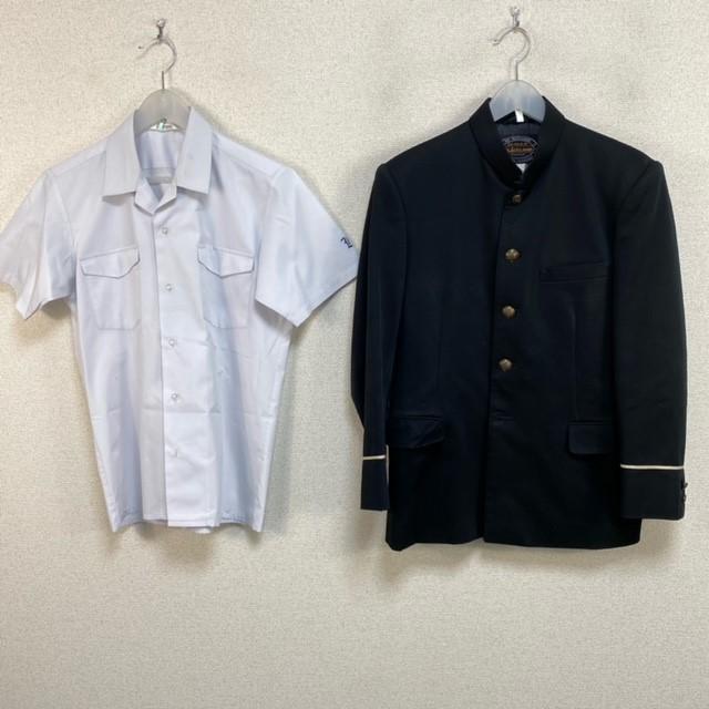 3点 佐賀県 佐賀市立鍋島中学校 男子制服