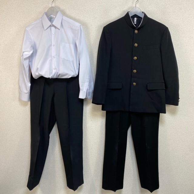 4点 佐賀県 佐賀市立城北中学校 男子制服
