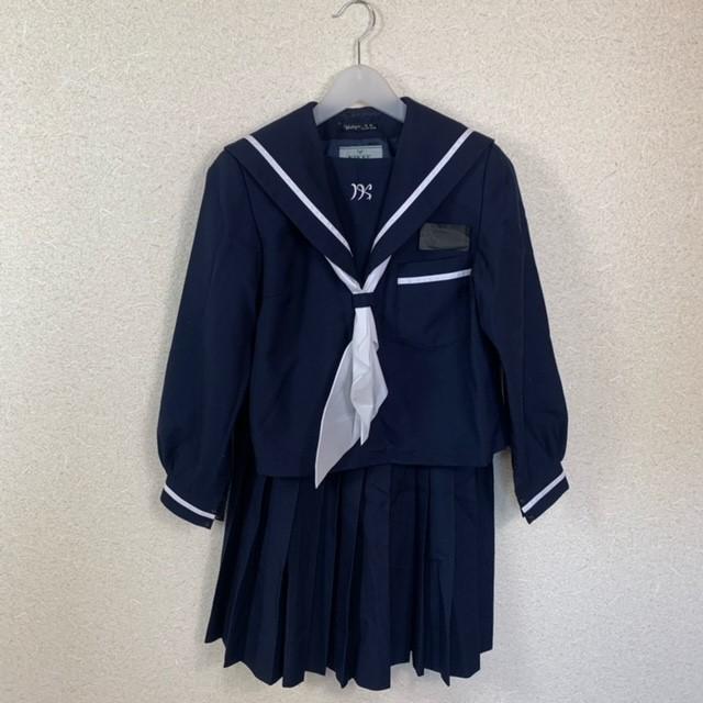 3点 宮崎県 宮崎市立生目中学校 女子制服