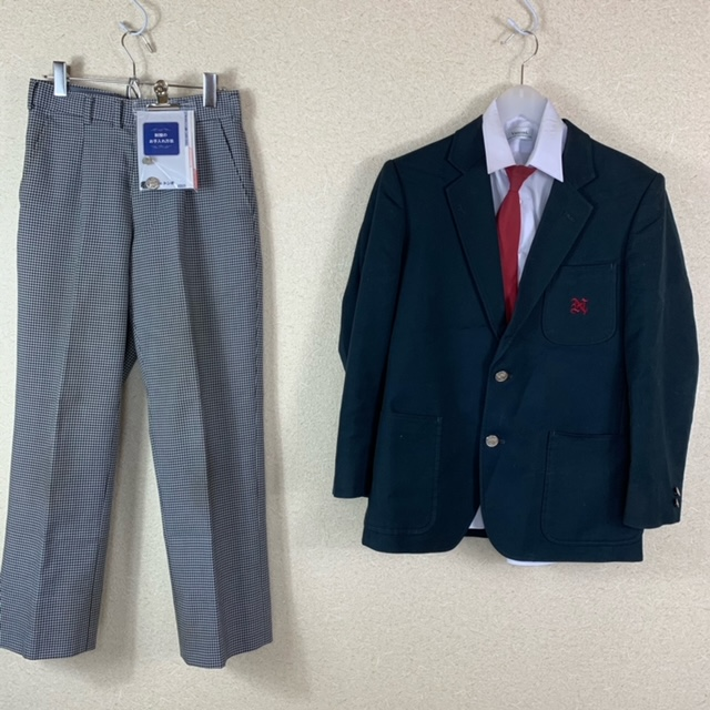 5点 広島県 海田町立海田西中学校 男子制服