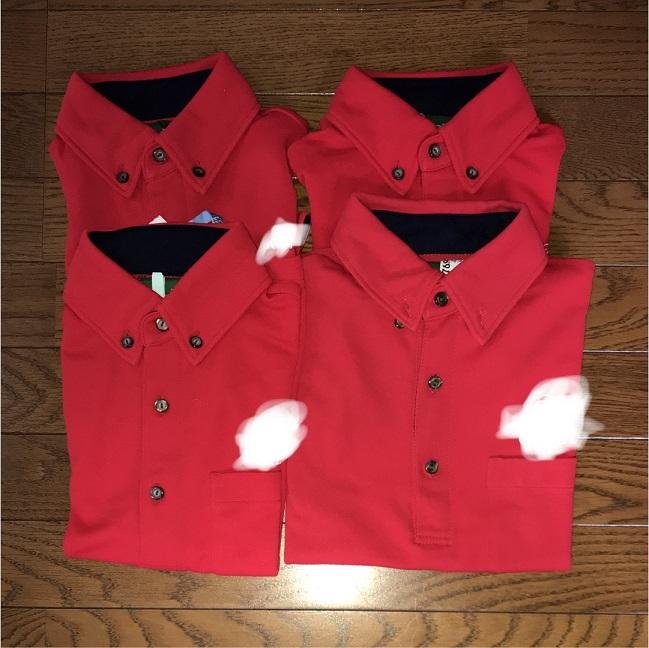 4点 企業制服(社名入り) ポロシャツ
