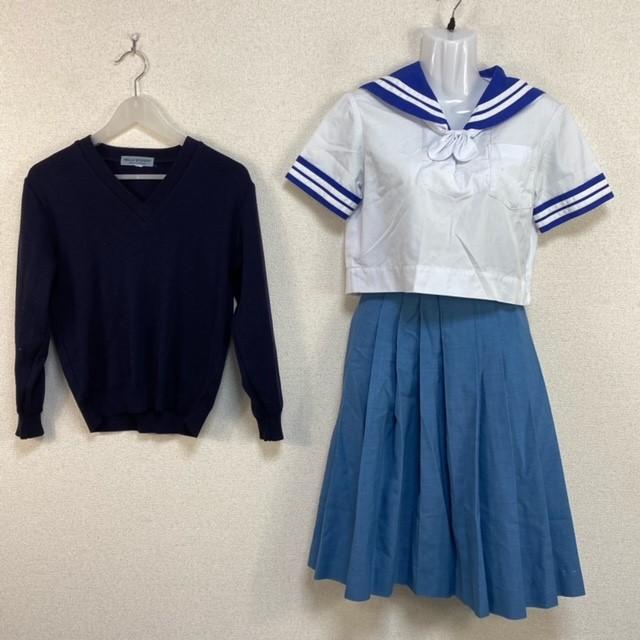4点 熊本県 熊本市立西山中学校 女子制服