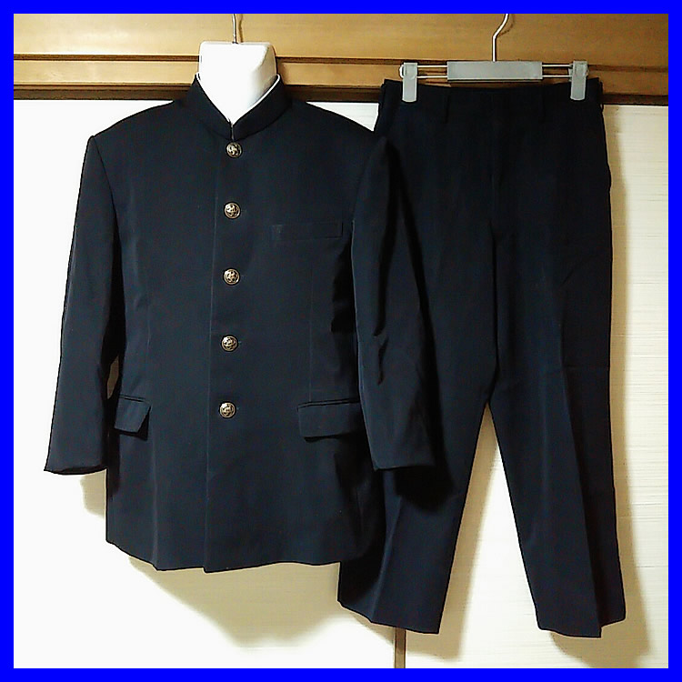 3点 静岡県 静岡市立長田西中学校 男子制服