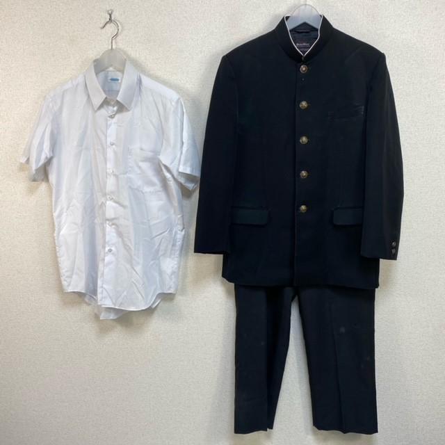 3点 新潟県 新潟市立松浜中学校 男子制服