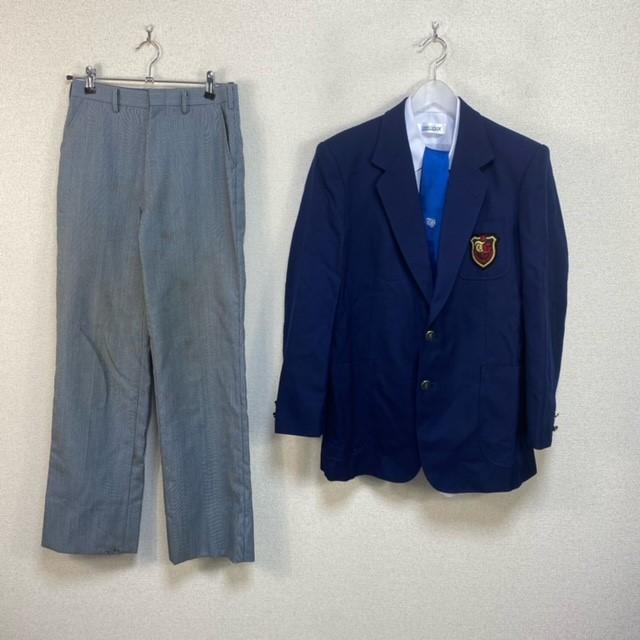 4点 富山県 富山県立富山商業高校 男子制服