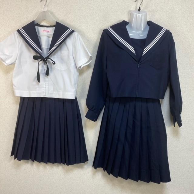 5点 中部中学校 女子制服