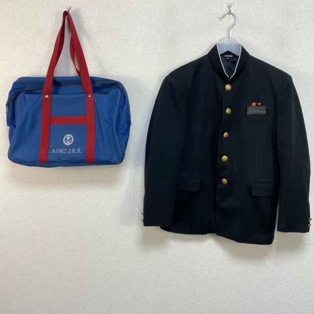 4点 宮崎県 宮崎市立檍中学校 男子制服