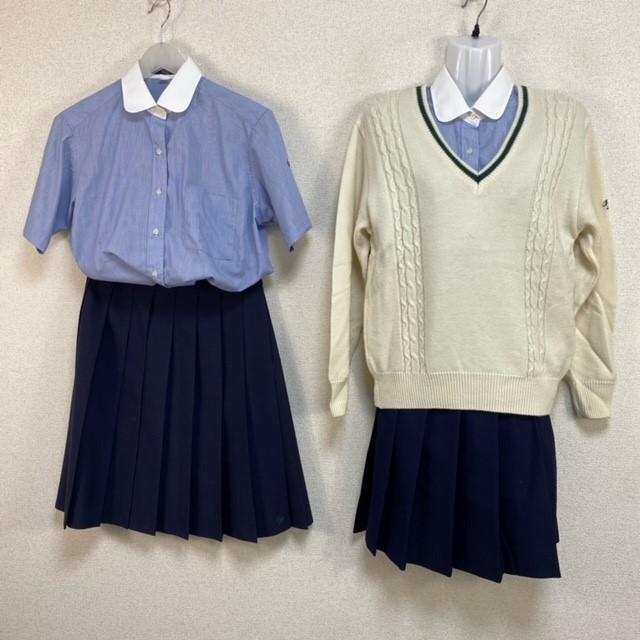 5点 千葉県 千葉県立市川東高校 女子制服