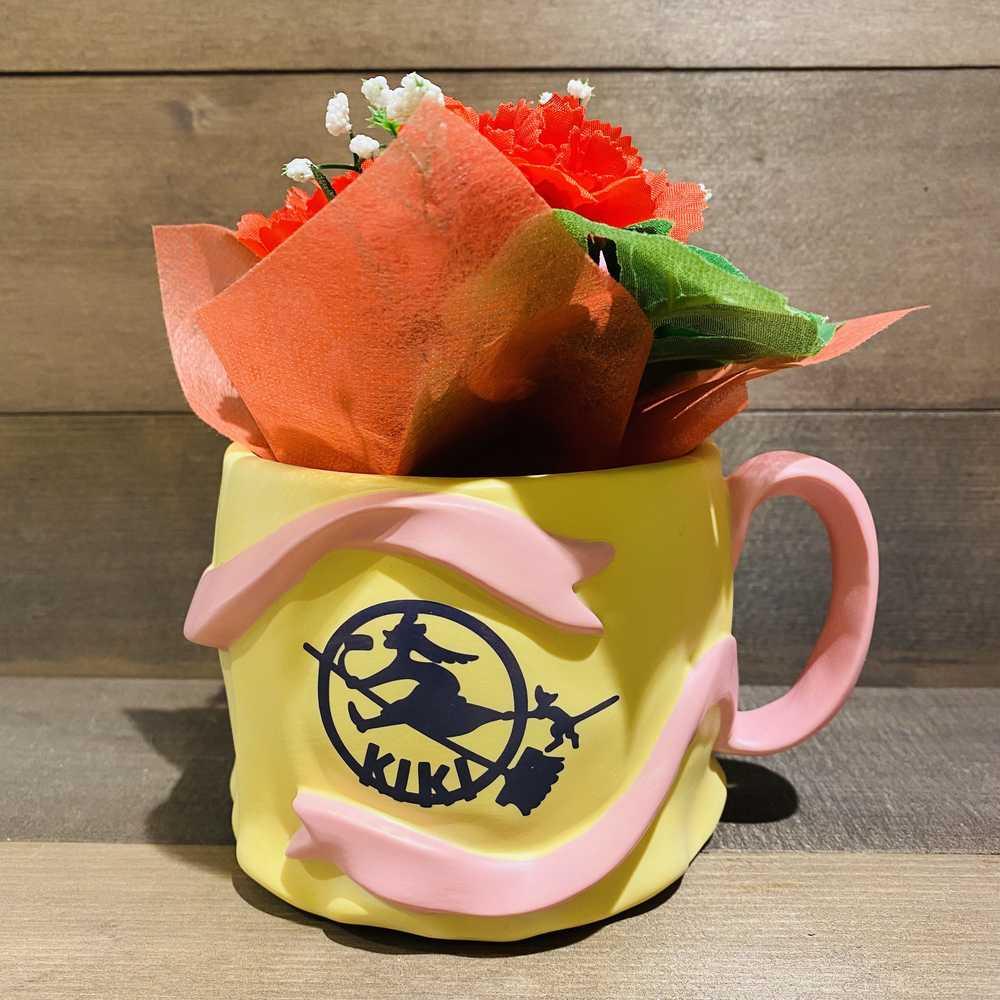 (造花セット)魔女の宅急便 カップ型プランターカバー