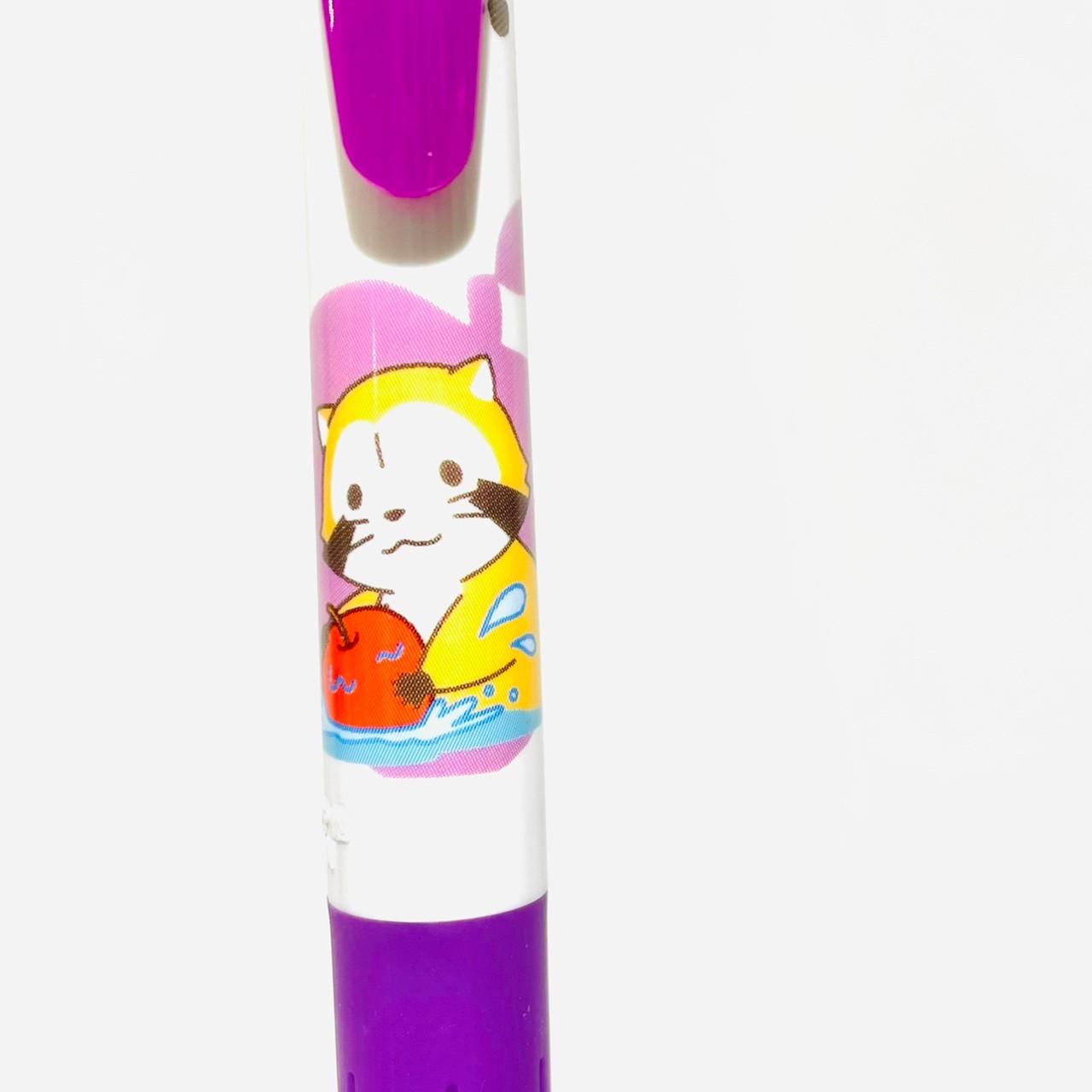 ラスカル サラサボールペン りんご