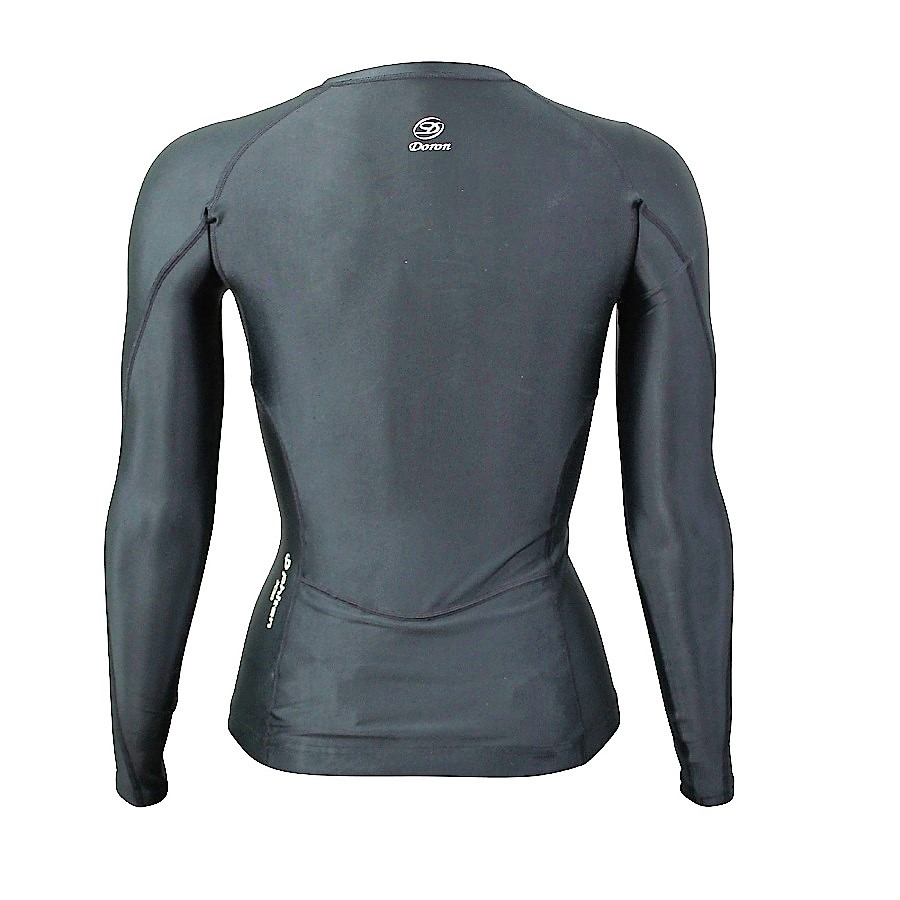 SOFT Women's ロングスリーブシャツ Black