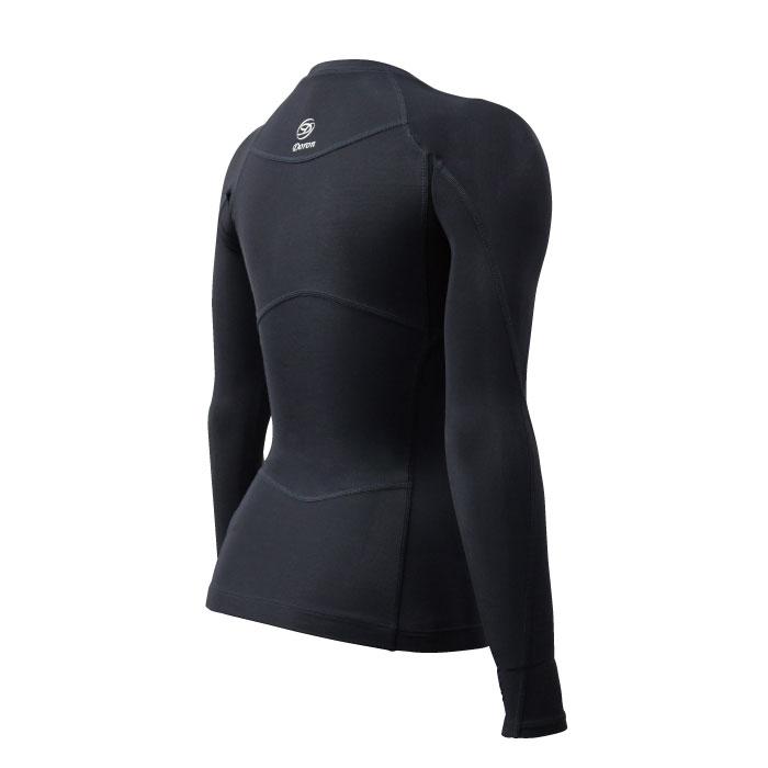ライト Women's ロングスリーブシャツ Black