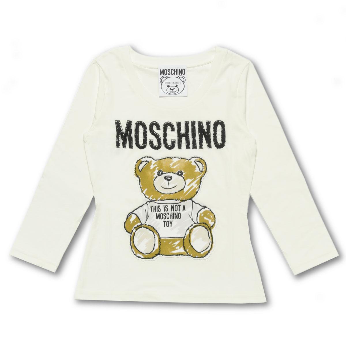 MOSCHINO モスキーノ   長袖Tシャツ