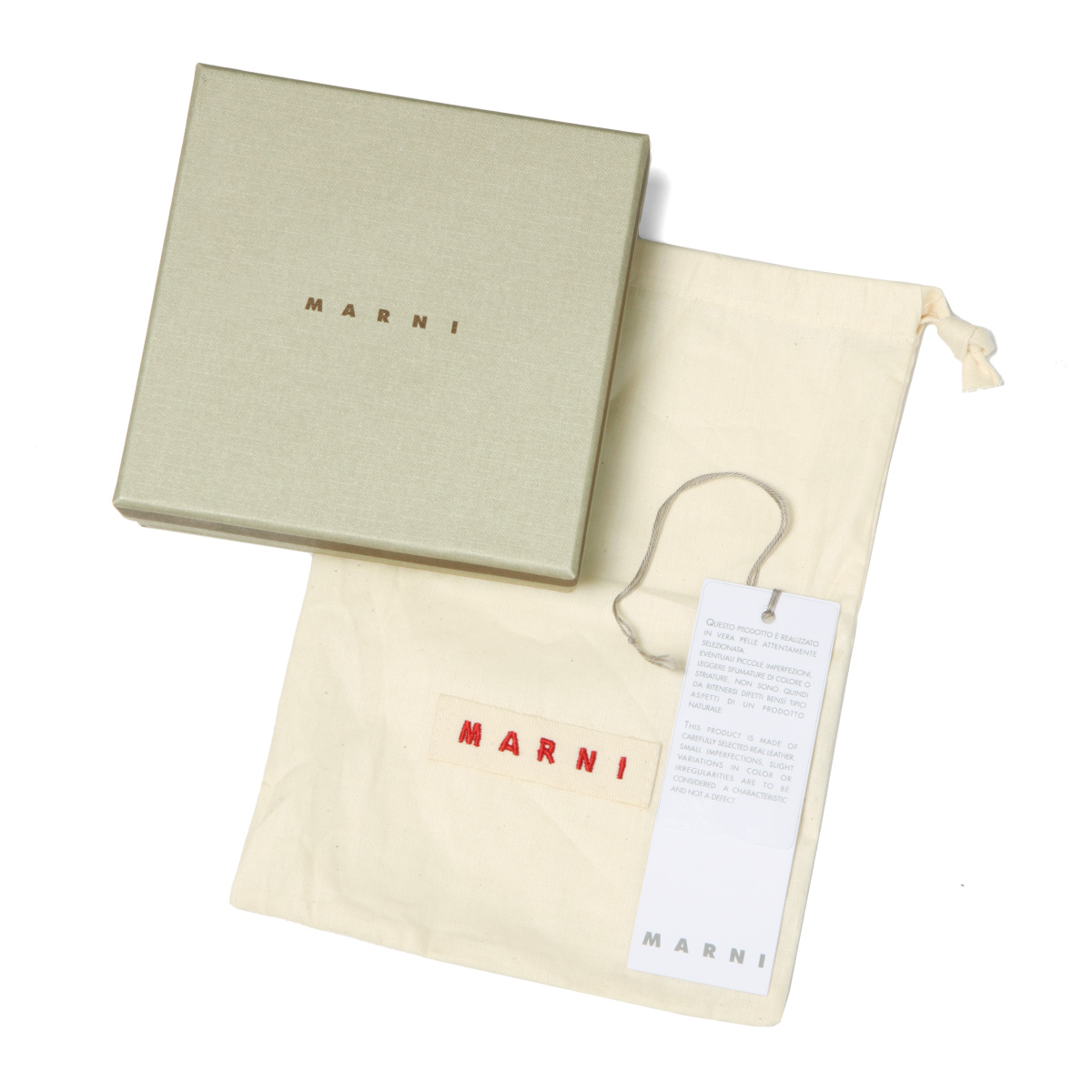 MARNI マルニ | ラウンドファスナー二つ折り財布