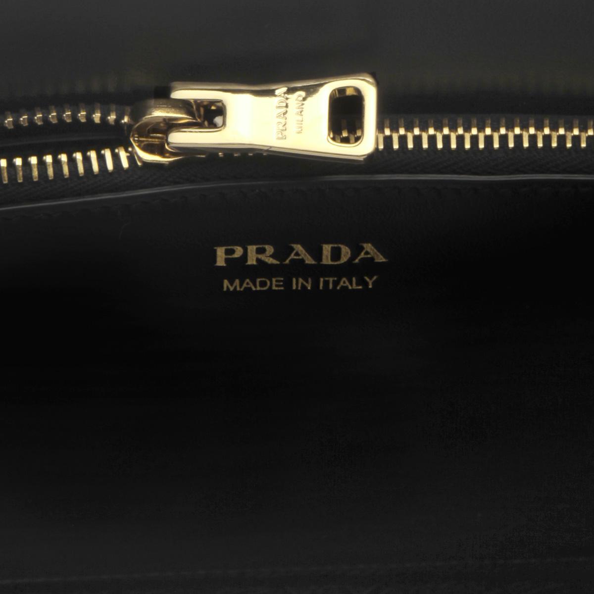 PRADA プラダ   ショルダー付 ハンドバッグ