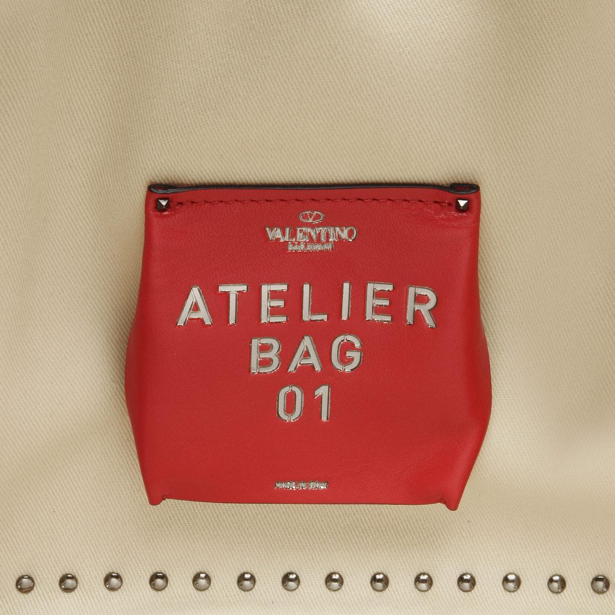 VALENTINO ヴァレンティノ | ショルダー付 トートバッグ スモール | ATELIER アトリエ