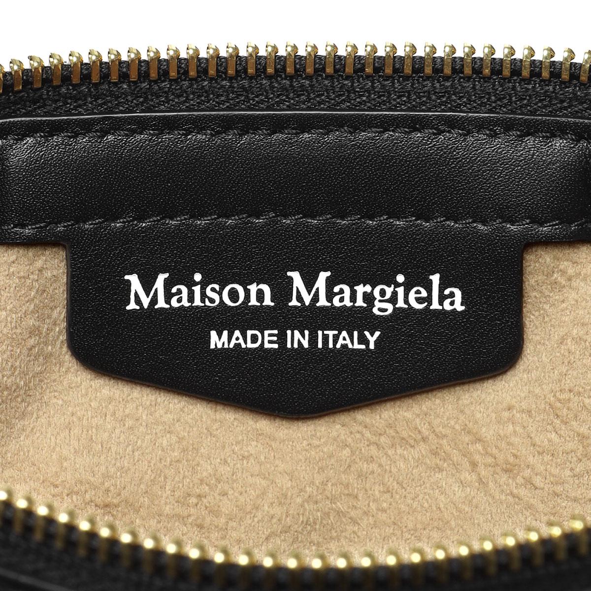 MAISON MARGIELA メゾン マルジェラ   ライン11 ショルダー付 ハンドバッグ ミニ   5AC ファイブエーシー