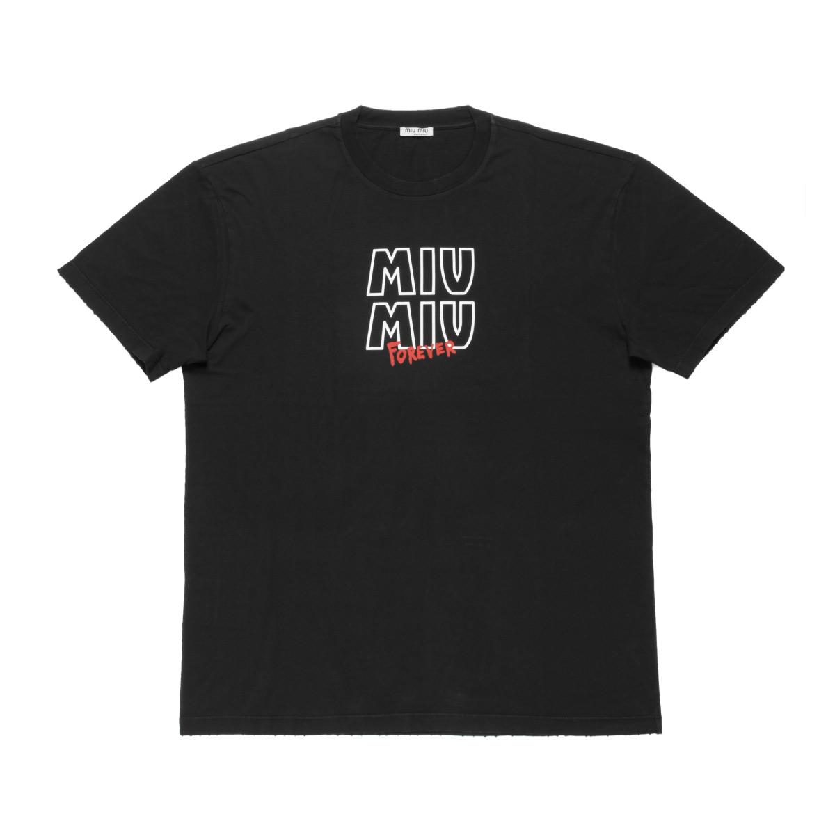 MIU MIU ミュウ ミュウ | 半袖Tシャツ