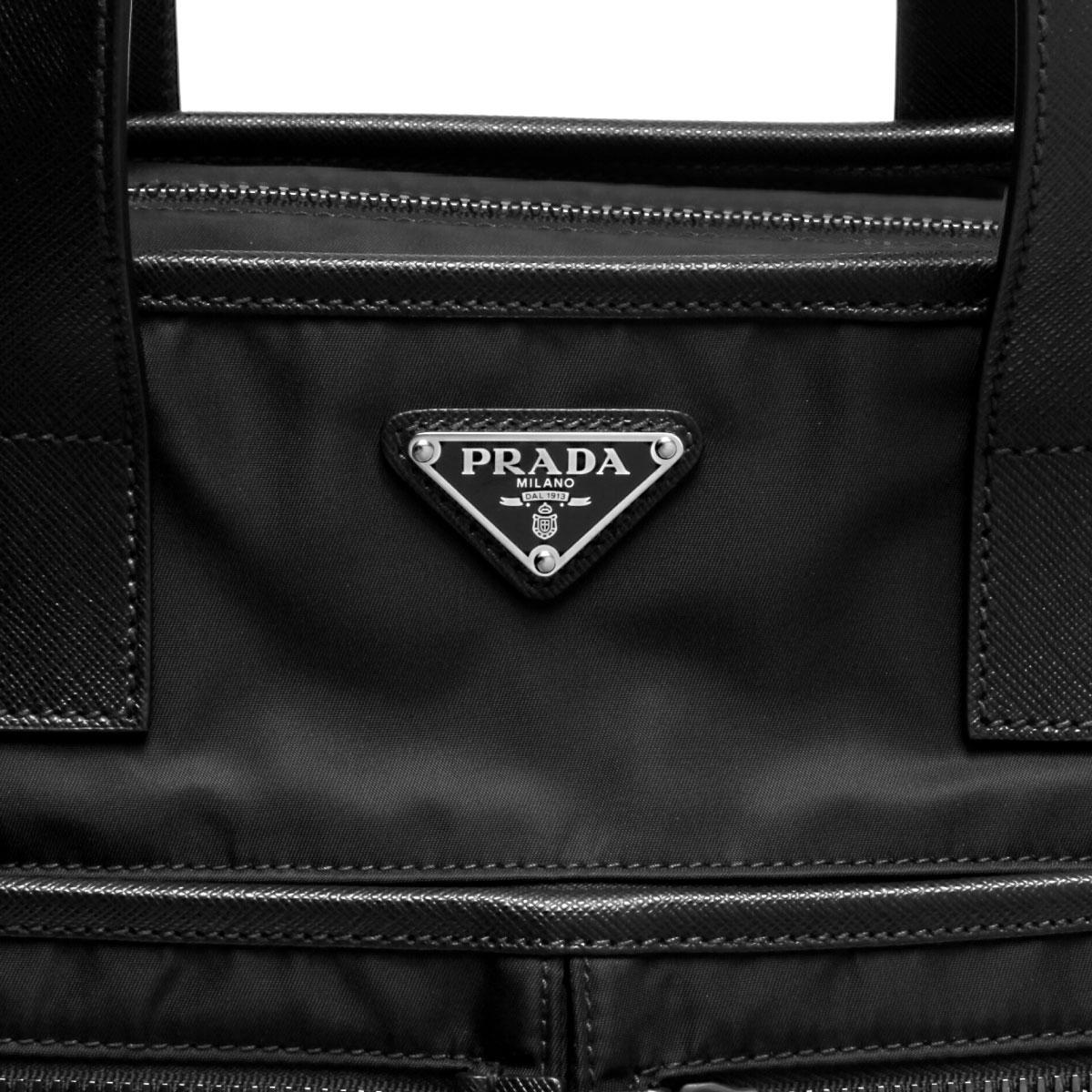 PRADA プラダ | ショルダー付 トートバッグ