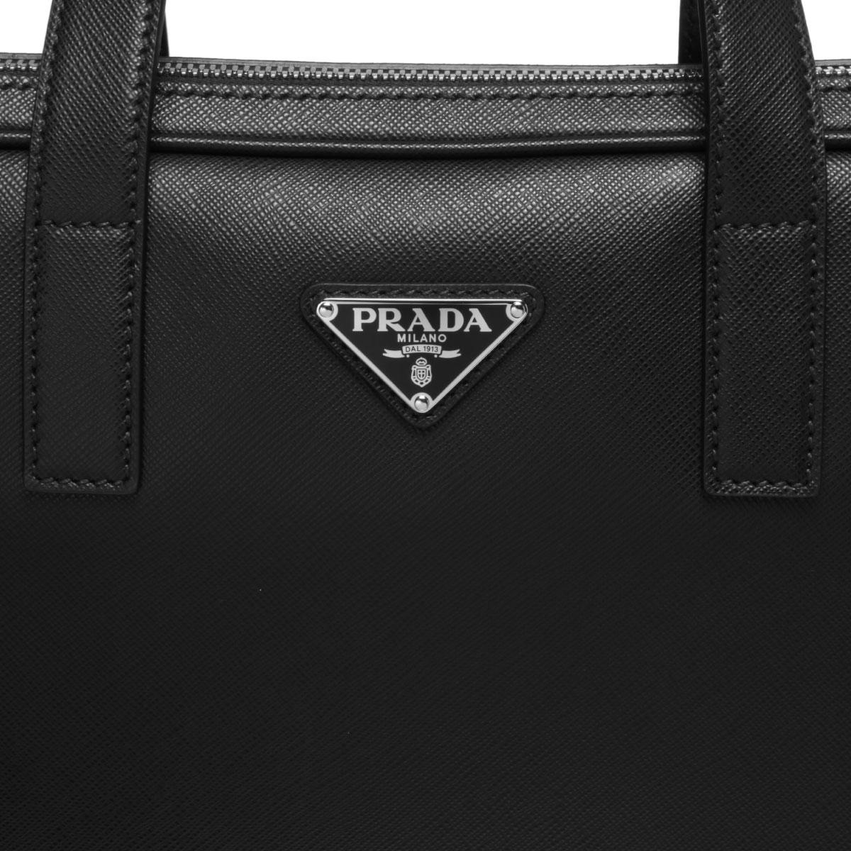 PRADA プラダ | ショルダー付 ブリーフケース