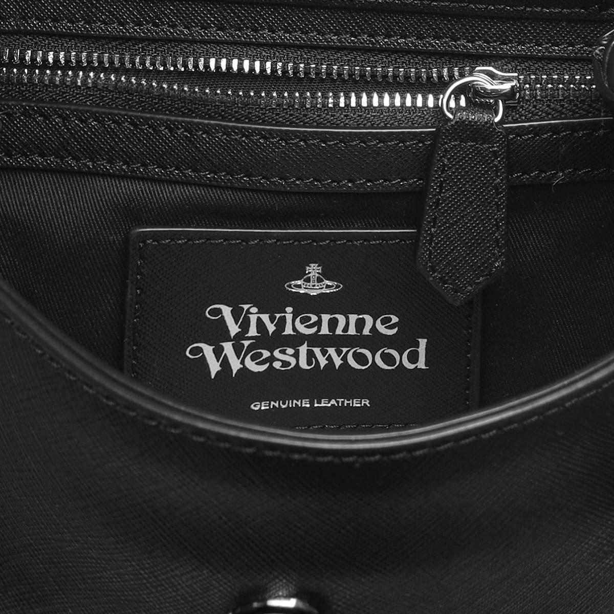 VIVIENNE WESTWOOD ヴィヴィアン ウエストウッド   ショルダー付 バケットバッグ   DEBBIE デビー