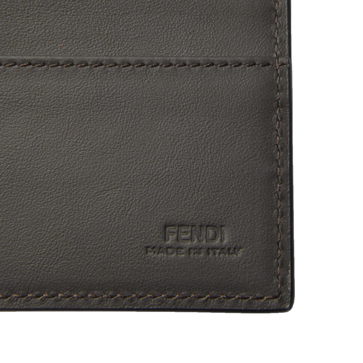 FENDI フェンディ   二つ折り長財布