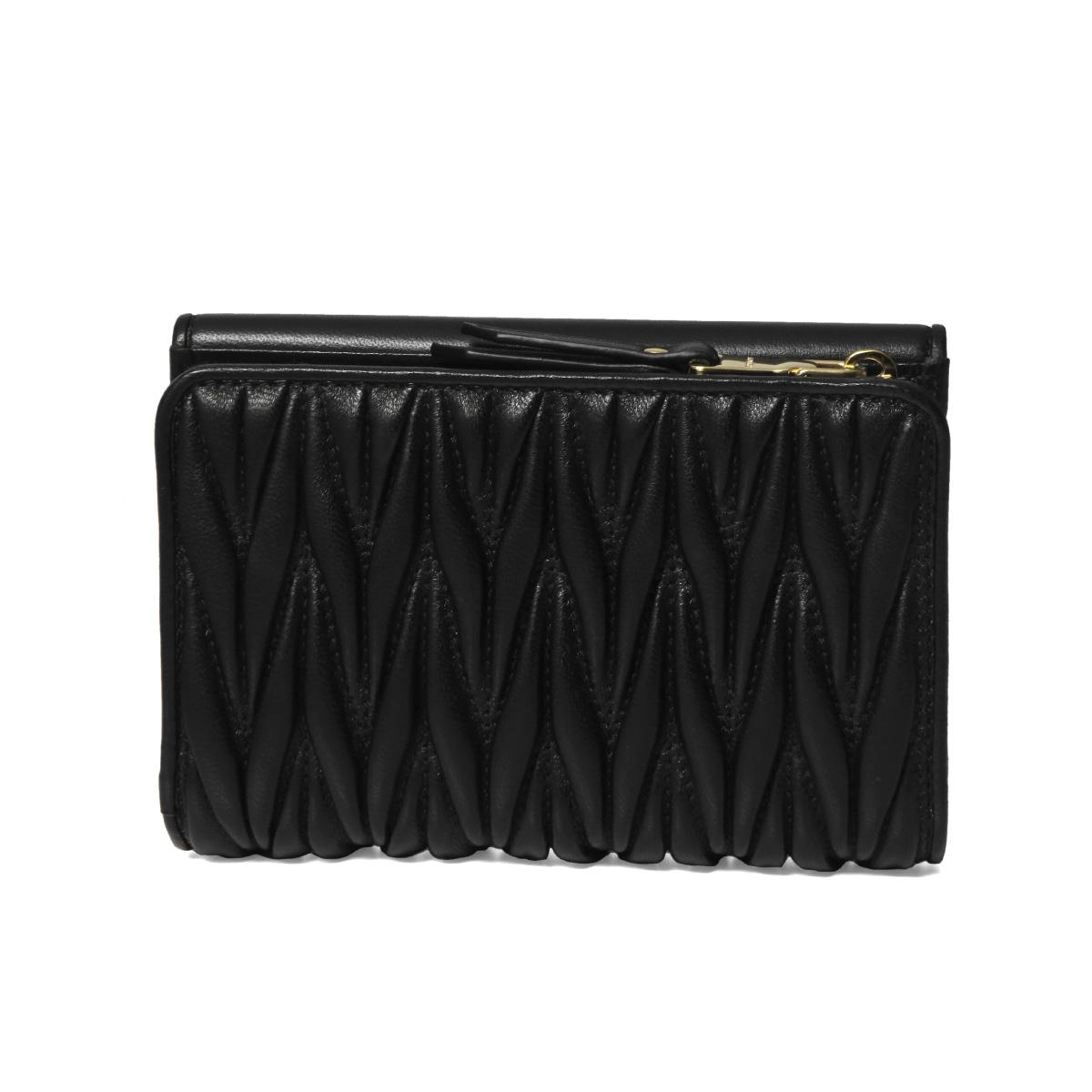 MIU MIU ミュウ ミュウ | 二つ折り財布 | MATELASSE