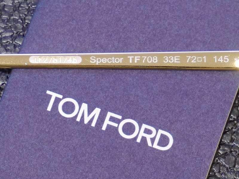 トムフォード(TOMFORD) TF0708 33E  Spector  (スペクター)