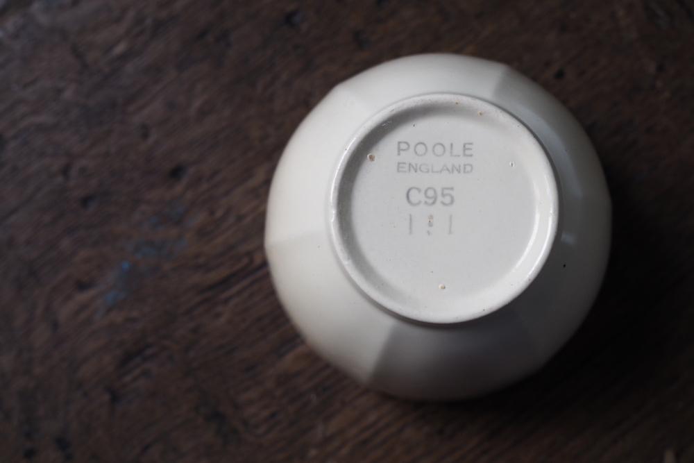 Poole Pottery small sugar bowl (Red Indian&Magnolia)<p>プール・ポタリー スモールシュガーボウル (レッドインディアン&マグノリア)</p>