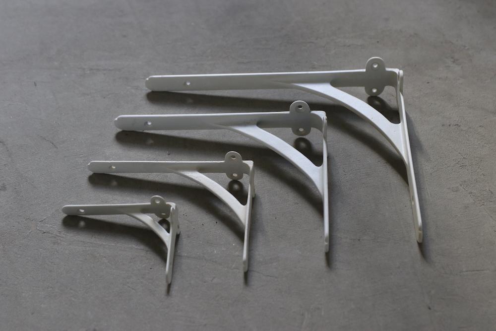 Brass bracket C<p>真鍮ブラケット C (古白色)</p>