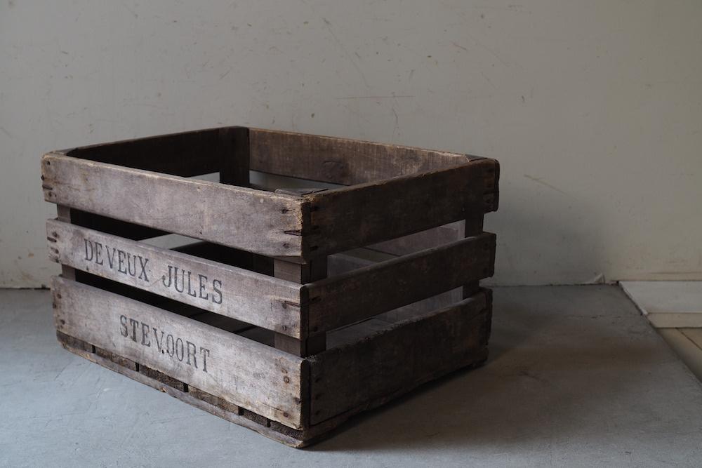 Wooden box H<P>ウッドボックス H</p>