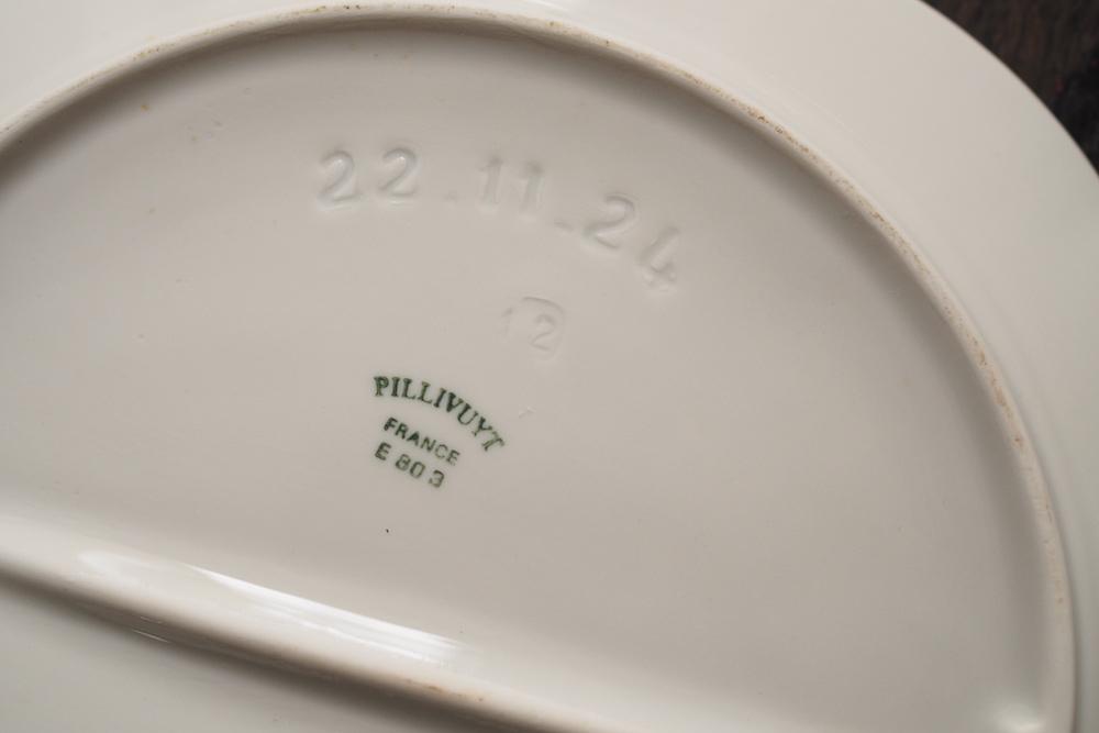PILLIVUYT artichoke plate<p>ピリヴィッツ アーティチョークプレート</p>